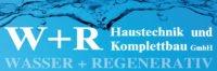 Logo W + R Haustechnik und Komplettbau GmbH